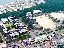 日本歯科大学新潟生命歯学部周辺