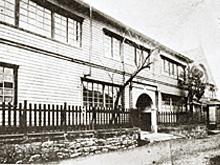 1909年当時の本校